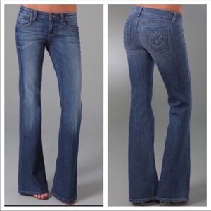 Siwy Bootcut Blue Jeans